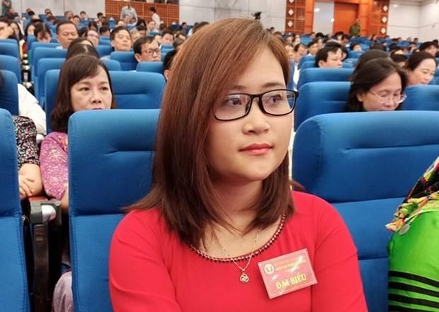 Primera maestra vietnamita entre los 10 mejores pedagogos a nivel mundial hinh anh 1