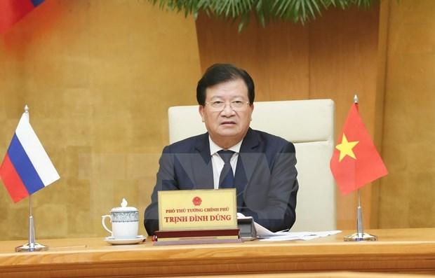 Comparten Vietnam y Rusia vision sobre asociacion estrategica integral bilateral hinh anh 1