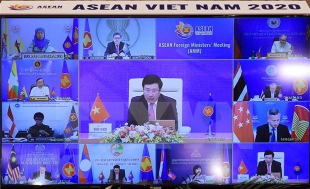 Periodico laosiano destaca los avances en la conectividad comunitaria de la ASEAN hinh anh 1