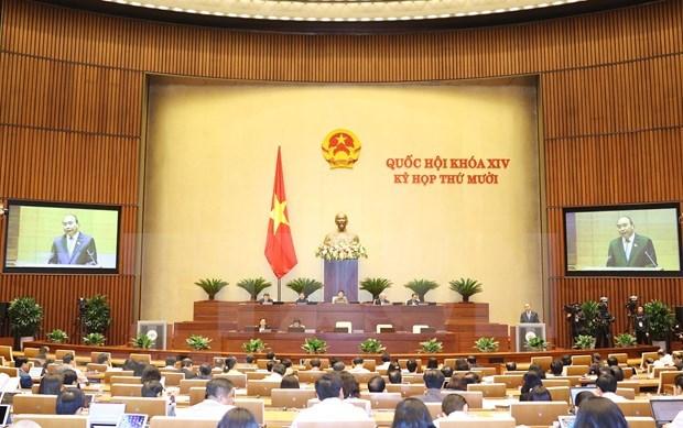 Parlamento de Vietnam aprobara el plan de desarrollo socioeconomico para 2021 y asuntos del personal hinh anh 1