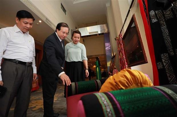 Celebraran II Festival Nacional de brocados en Vietnam hinh anh 1