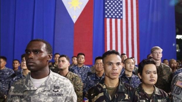 Mantiene Filipinas aplazamiento de cancelacion del acuerdo militar con Estados Unidos hinh anh 1
