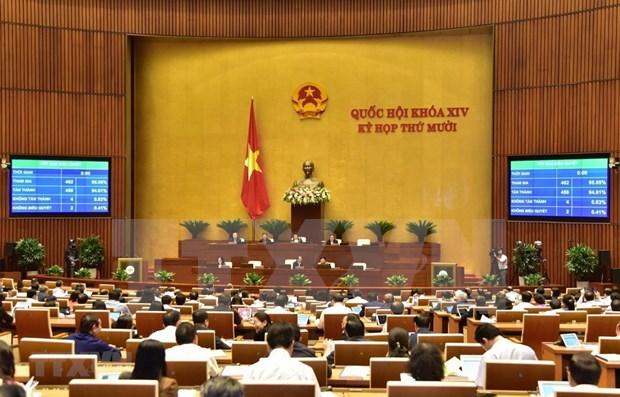 Parlamento de Vietnam ratificara designacion de tres miembros de Gobierno hinh anh 1