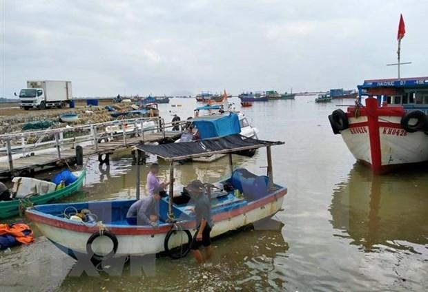 Premier vietnamita pide concentrarse en responder al tifon Vamco hinh anh 1