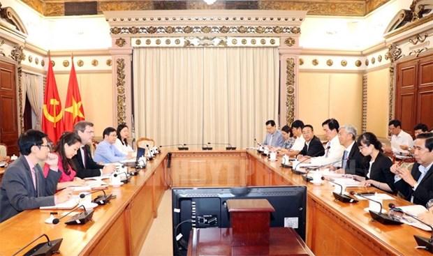Ciudad Ho Chi Minh fomenta cooperacion con Banco Asiatico para el Desarrollo hinh anh 1
