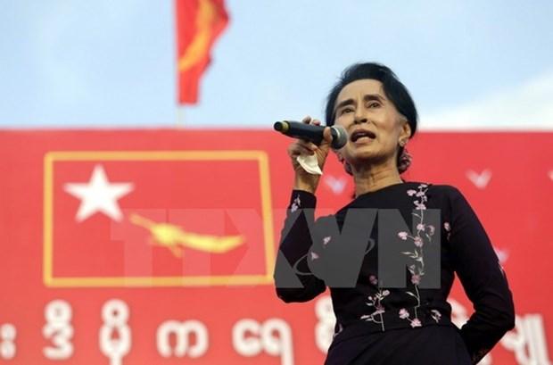 Elecciones de Myanmar: Partido gobernante gana suficientes escanos para formar nuevo gobierno hinh anh 1