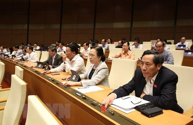 Parlamento de Vietnam discuten borrador de Ley de prevencion contra las drogas (enmendada) hinh anh 1