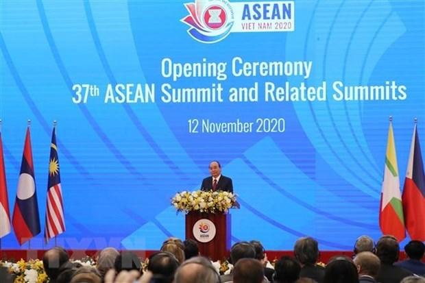Resalta Camboya papel presidencial de Vietnam en la ASEAN hinh anh 1