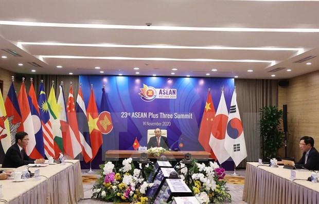 ASEAN+3 refuerza la resiliencia economica y financiera ante los desafios emergentes hinh anh 1