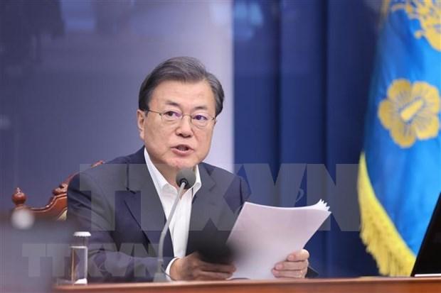 Presidente de Corea del Sur llama a fomentar cooperacion en lucha contra enfermedades infecciosas  hinh anh 1