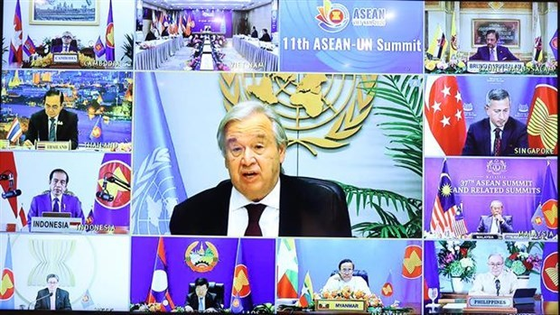 La asociacion integral ASEAN-ONU se fortalece mas que nunca, valora Antonio Guterres hinh anh 1