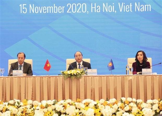 Destaca premier de Vietnam exito de la 37 Cumbre de ASEAN hinh anh 1