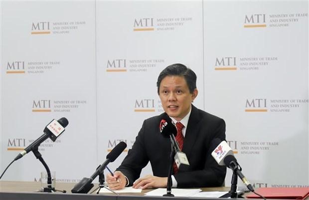 Singapur ratificara pronto el acuerdo RCEP hinh anh 1