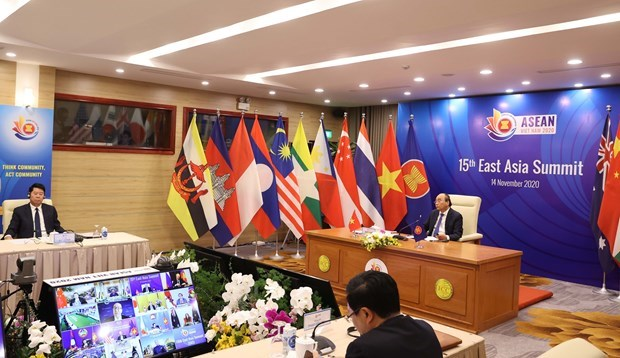XV Cumbre de Asia Oriental: Vietnam destaca importancia de mantener un entorno de paz y estabilidad hinh anh 1