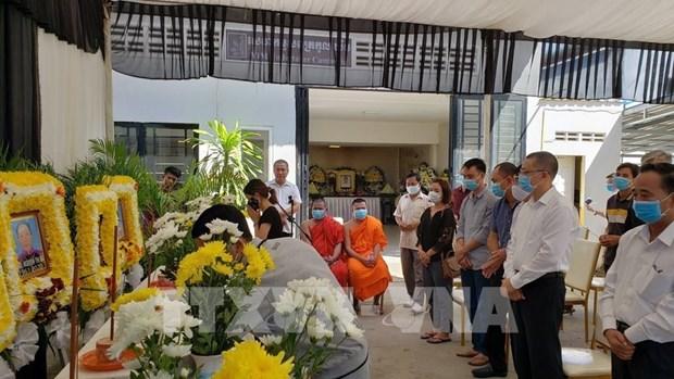 Victimas vietnamitas del accidente de transito en Camboya regresan a la Patria hinh anh 1