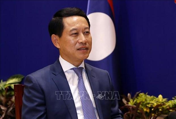 Laos aprecia contribucion de Vietnam a la ASEAN hinh anh 1