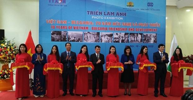Resaltan fotos de VNA historia de 70 anos de amistad y cooperacion Vietnam-Bulgaria hinh anh 1