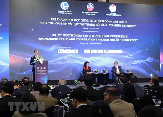 Inauguran duodecimo seminario internacional sobre el Mar del Este hinh anh 1