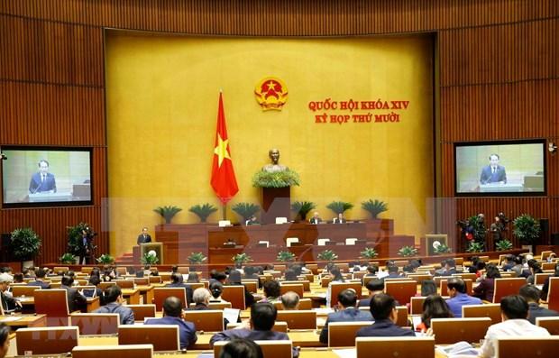 Parlamento de Vietnam aprueba Resolucion sobre organizacion del gobierno urbano en Ciudad Ho Chi Minh hinh anh 1