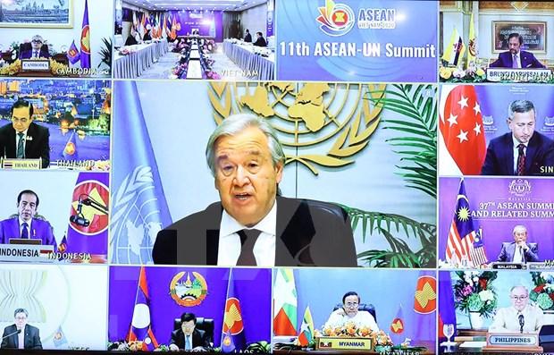 Camboya destaca papel de ONU en el impulso del multilateralismo hinh anh 1