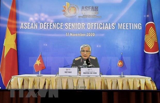 Paises de la ASEAN fortalecen cooperacion en defensa hinh anh 1