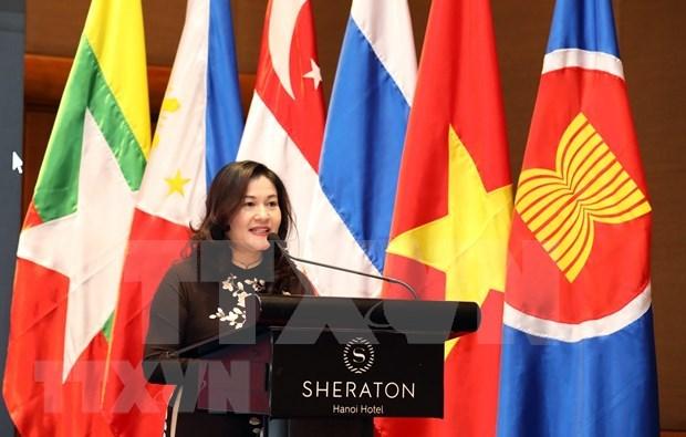 ASEAN trabaja para promover los derechos de las mujeres y los ninos hinh anh 1