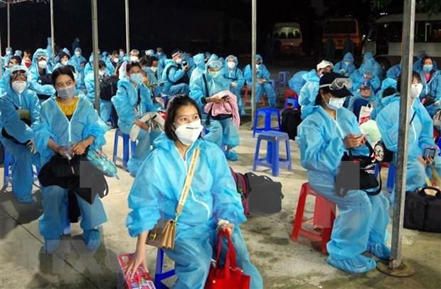 Repatrian a 240 ciudadanos vietnamitas desde Taiwan (China) hinh anh 1