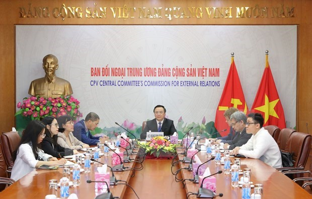 Destaca Vietnam relaciones con organizaciones politicas de Alemania hinh anh 1
