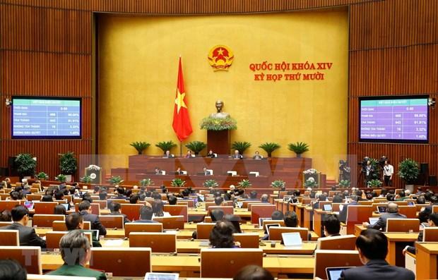 Parlamento vietnamita aprueba Ley de Proteccion del Entorno (enmendada) hinh anh 1