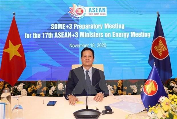 Promueven la cooperacion energetica entre ASEAN y China, Corea del Sur y Japon hinh anh 1