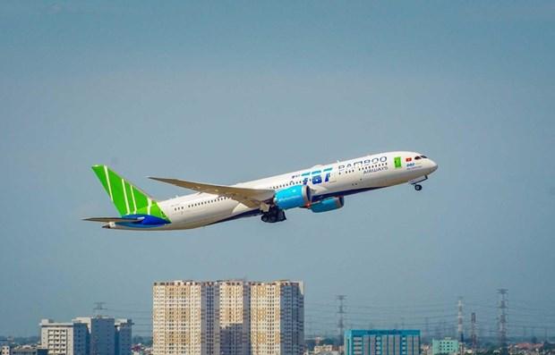 Bamboo Airways elegida como la aerolinea lider de Asia hinh anh 1
