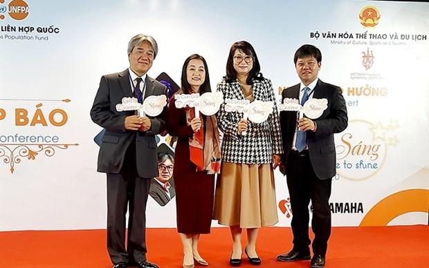 Celebraran en Hanoi concierto sinfonico para promover igualdad de genero hinh anh 1