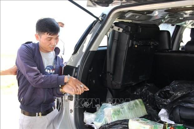 Arrestan a narcotraficante en provincia vietnamita de Tay Ninh hinh anh 1