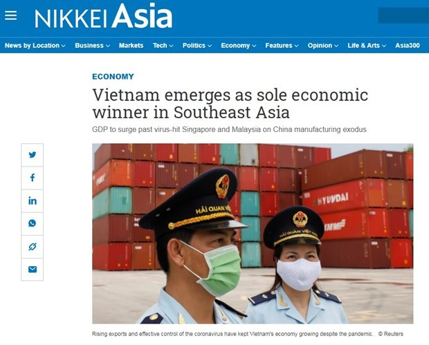 Vietnam emerge como unico ganador economico en el sudeste asiatico, segun Nikkei Asia hinh anh 1