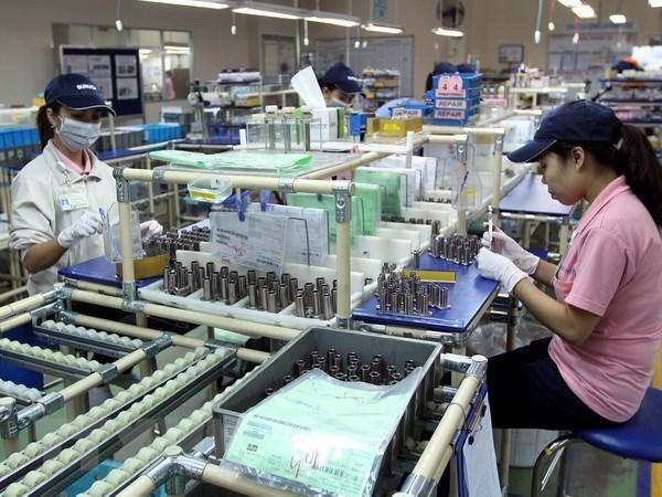 Empresas de inversion foranea aumentan su capital en industrias auxiliares de Vietnam hinh anh 1
