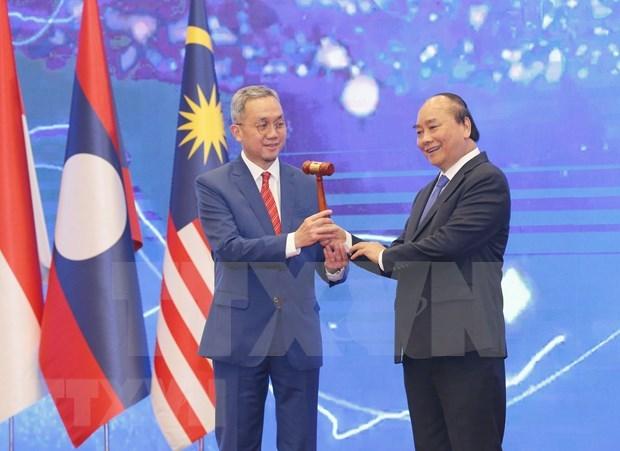 Vietnam desempeno excelentemente el papel presidencial de la ASEAN, segun Filipinas hinh anh 1