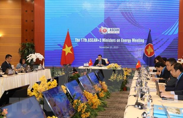 ASEAN+3 se compromete a promover cooperacion energetica hinh anh 1