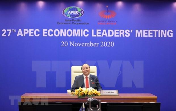 Inauguran 27° Cumbre del Foro APEC hinh anh 1