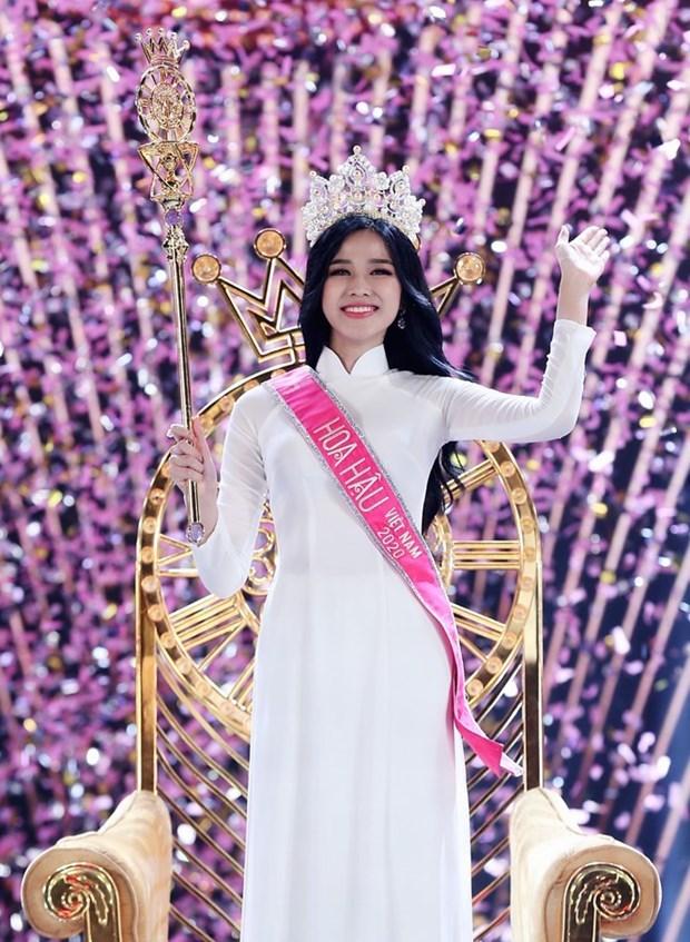 Do Thi Ha coronada Miss Vietnam 2020 hinh anh 1