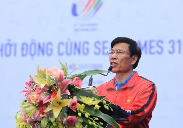 Vietnam cuenta atras para los XXXI Juegos del Sudeste Asiatico hinh anh 1