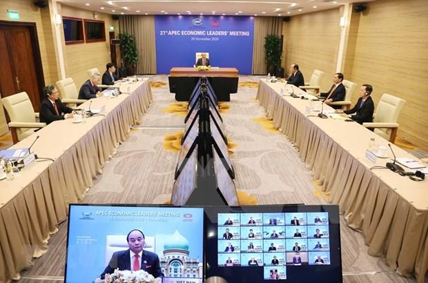 Premier vietnamita resalta importancia de colaboracion multilateral en APEC hinh anh 1