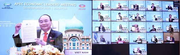 APEC adopta Vision Putrajaya 2040 hinh anh 1