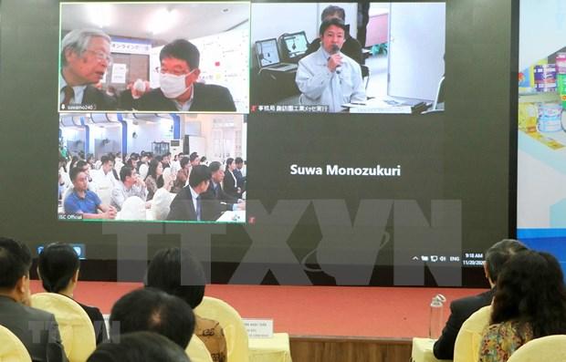 Promueven empresas vietnamitas y japonesas la transferencia de tecnologia hinh anh 1