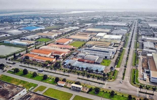 Vietnam averigua progreso de zonas industriales con grandes proyectos electronicos hinh anh 1