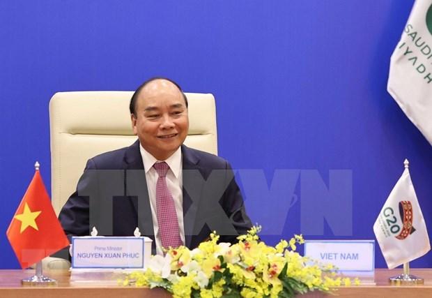 Premier de Vietnam insta a fomentar solidaridad para un futuro sostenible durante la Cumbre del G20 hinh anh 1