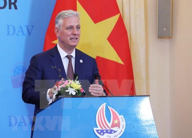 Estados Unidos espera promover la asociacion integral con Vietnam, dice alto funcionario hinh anh 1