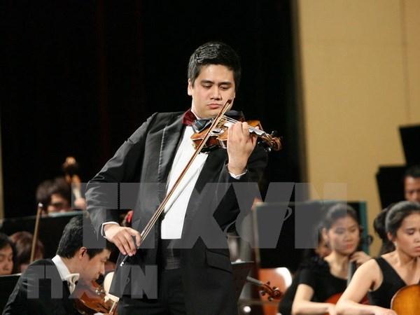 Artista vietnamita se presentara en concierto en honor a Beethoven hinh anh 1