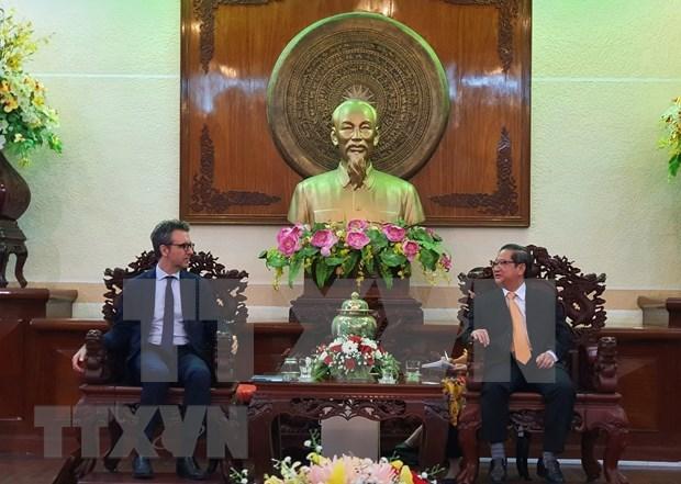 Ciudad vietnamita impulsa cooperacion con UE para adaptarse al cambio climatico hinh anh 1