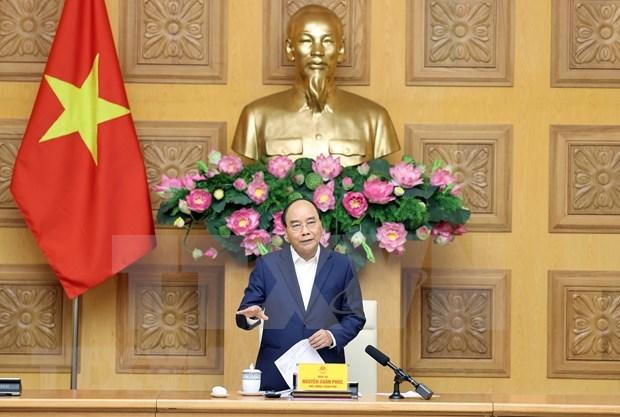 Sugiere premier de Vietnam que sector textil aproveche mas mercado interno hinh anh 1