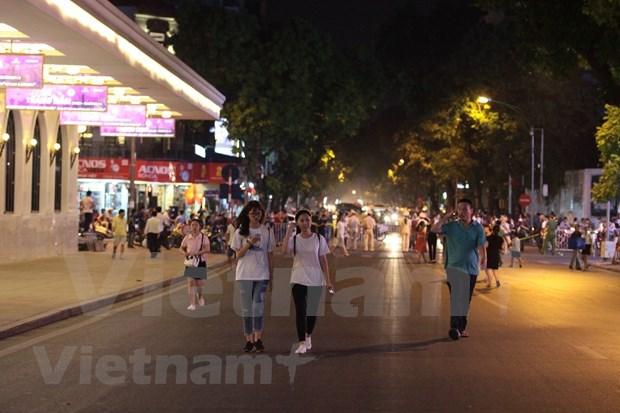 Lanzan en Hanoi un concurso fotografico para estimular caminata hinh anh 1